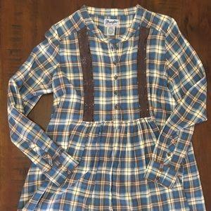 Wrangler Women's Dress - Size Medium